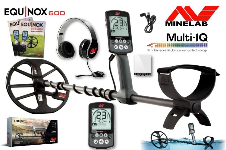 Metalldetektor Minelab Equinox 600