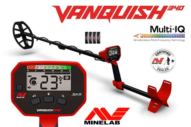 Metalldetektor Minelab Vanquish 340