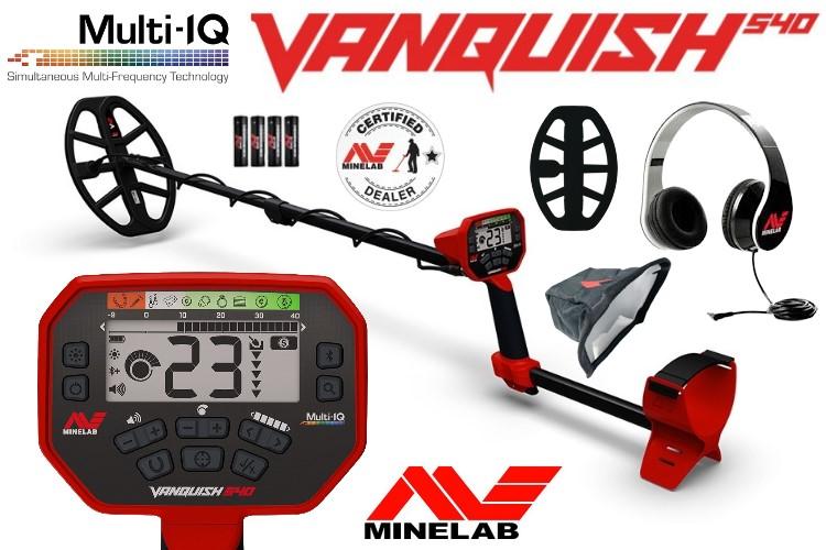 Minelab Vanquish 540 Metalldetektor